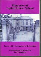 Tapton House School. Loc History/Nostalgia, Chesterfield. Derbyshire - VGood.