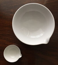 (2) Coors Porcelain Evaporating Lab Bowls Dish Immaculate Unused