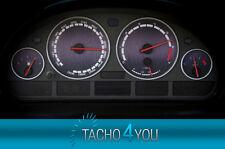 Tachoscheiben für BMW 300 kmh Tacho E39 Benzin Schwarz 3315 Tachoscheibe km/h X5