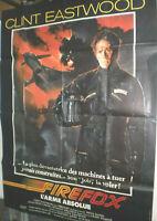 XXLFilmplakat,Plakat,FIREFOX ,L'ARME ABSOLUE, CLINT EASTWOOD #127