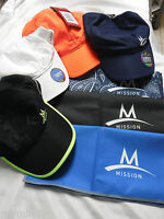 Mission ENDURACOOL Multi Cool BASEBALL CAP Your Choice & FREE Mission Towel /X@