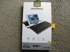 New ZAGG ZAGGkeys Universal Bluetooth Keyboard & Stand for All Bluetooth Devices