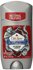3 Pack Old Spice WOLFTHORN Anti-Perspirant & Deodorant 2.6 Oz Each