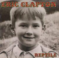 ERIC CLAPTON 2001 REPTILE N. AMERICA TOUR CONCERT PROGRAM BOOK BOOKLET / EX2 NM