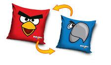 Nuevo Licensed Angry Birds Rio Rojo/Azul Funda De Cojín 40x40cm 100% algodón