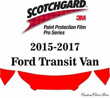 3M Scotchgard Paint Protection Film Pro Series 2015 2016 2017 Ford Transit Van