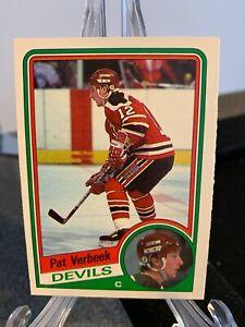 1984-85 Pat Verbeek O-Pee-Chee Rookie - New Jersey Devils