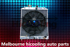 3 core radiator + one fan for Honda CIVIC EG EK B16 B18 D15 D16 1992-2000 32mm