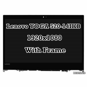 """Genuine Lenovo Yoga 520-14IKB 81C8 14.0""""  LCD LED Display Touch Screen Assembly"""