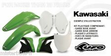 Kit plastiques UFO Kawasaki KX 125 250 KX 2000-2002 00-02  couleur Origine