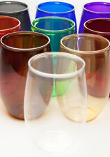 16 oz. Stemless PET Wine Glass - 8 Case Pack