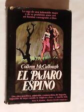 El pájaro espino, de Colleen McCullough. Libro 1978
