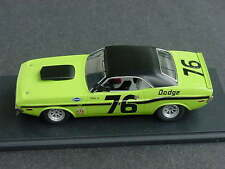 SMTS 1/43 Dodge Challanger Trans Am #76 Riverside 1970 Tony Adamowicz