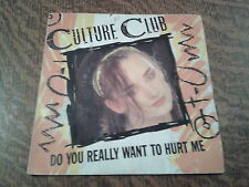 45 tours culture club do you really want to hurt me