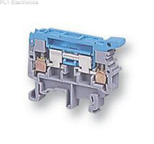 ENTRELEC UK - 011565907 - TERMINAL BLOCK, DIN, 6.3A, NEUTRAL Price For: 5
