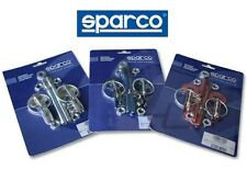 SPARCO HOOD PIN RACING UNIVERSAL RACE LOCK KIT 01606S 100% AUTHENTIC ITALY NEW