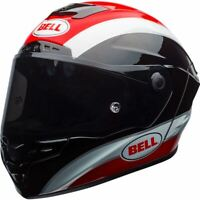 Bell Race Star MIPS Motorcycle Helmet - Classic Gloss Black/Red - DOT/Snell - XL