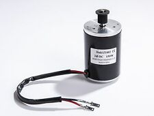150W 24 or 12 V DC electric brush motor f scooter project DIY 3M Belt
