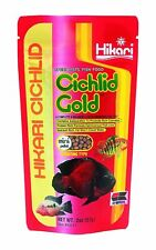 Hikari Cichlid Gold Floating Mini Pellet - High Protein Daily Fish Food - 2 oz