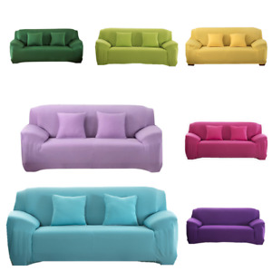 1-4 Seater Slipcover Sofa Covers Spandex Stretch Cover Furniture Protect