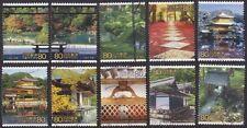 JAPAN 2001 C1800 World Heritage of World War 2 Series 5 stamps 10v USED