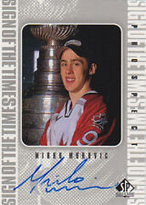 98-99 SP Authentic Sign Of The Times AUTO Mirko MUROVIC - Team Canada