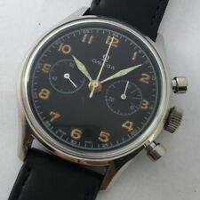 VINTAGE OMEGA CAL 320 MILITARY AAF ARGENTINEAN AIRFORCE MANUAL WIND CHRONO