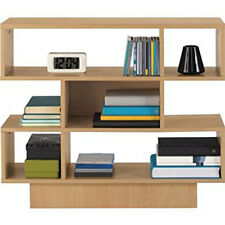 New Cubes Wooden Bookcase Shelving Display Beech Shelving Unit book storage unit