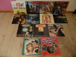 13 x Soundtrack Filmmusik LP Langspielplatte zb. Timm Thaler / Grease / Carousel