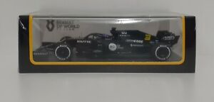 Model Die Cast Car F1 1:43 Spark Renault Ricciardo Barcelona 2020 Static