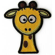 Embroidered Cute Giraffe Kids Sew or Iron on Patch