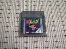Klax für GameBoy Color und Advance