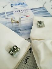 Grey Goose bottle Custom Glass Chip Cuff Links Collectible Unique Golf Fornal