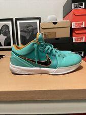 "Nike Zoom Kobe 4 Protro x Undefeated Hyper Jade ""San Antonio"" Size 10.5"