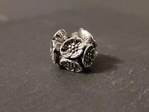 "Trollbeads Genuine- ""Cherry Blossom"" bead Orig. $72"