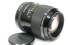 Pentax K Mount fit Komura KMC Komuranon 135mm f2.8 lens, PK camera mount