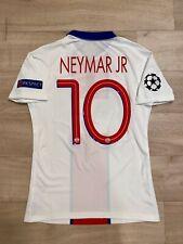 Maillot Porté Préparé PSG Paris Saint Germain Match Un Worn Neymar JR Bresil