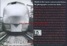 Pentax Espio Mini Camera 1995  Magazine 2 Page Advert #2669