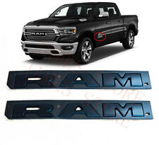 2019-2020 Ram 1500 Right & Left Side Front Door Ram Emblem