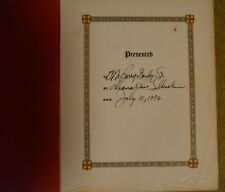 1976 MOTOWN DIANA ROSS Bible signed to BERRY GORDY SR Detroit fantastically rare
