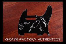GFA Australian Rock Band  * THE TEMPER TRAP *  Signed Electric Pickguard AD1 COA