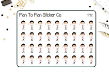 1732~~Dentist Appointment Planner Stickers.