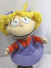 RUGRATS Plush ANGELICA Hand PUPPET Stuffed Doll Toy 1998 Viacom Nickelodeon