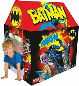 New Zitto Batman Play Kids Play Tent House Camping Outdoor Canopy Multicolor