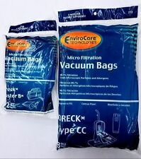 8 Oreck Style Cc, and all Xl & 12 Buster B Housekeeper Vacuum Cleaner Bags
