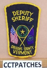 ORLEANS COUNTY, VERMONT DEPUTY SHERIFF (POLICE) SHOULDER PATCH VT