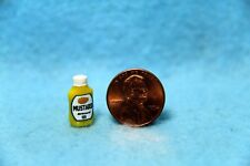 Dollhouse Miniature Detailed Replica Mustard Squeeze Bottle  HR54232