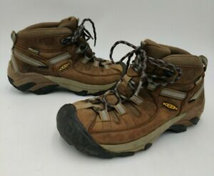 Keen Womens Targhee II Mid 1004114 Brown  Dry Waterproof Hiking Boots Size 6.5