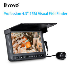 """4.3"""" Inch 15M Fish Finder Infrared LED Underwater Fishing Camera for ICE Fishing"""