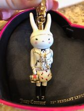 NWOT JUICY COUTURE FIFI LAPIN BUNNY 2012 LTD ED PENDANT CHARM. EXTREMELY RARE!!!